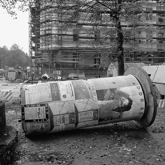 Thomas Steinert: Leipzig-Volkmarsdorf, Elisabethstraße, 09.10.1989