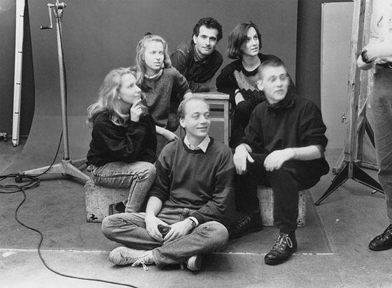 Thomas Wolf: Leipzig, Geburtstagsgäste, 08.11.1989