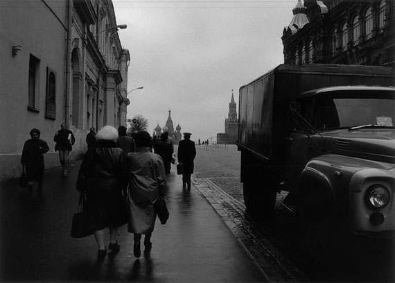 Ulrich Wüst: Moskau, am Roten Platz, 22.10.1989