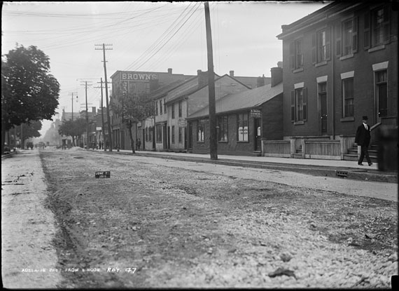Arthur S. Goss, Track, June 7, 1911. City of Toronto Archives, series 372, subseries 58, item 47