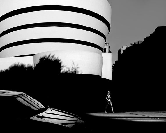 Gabriele Croppi: Guggenheim-Museum#01, Canson Baryt Photographique, Limited Edition of 9, 100 x 80 cm