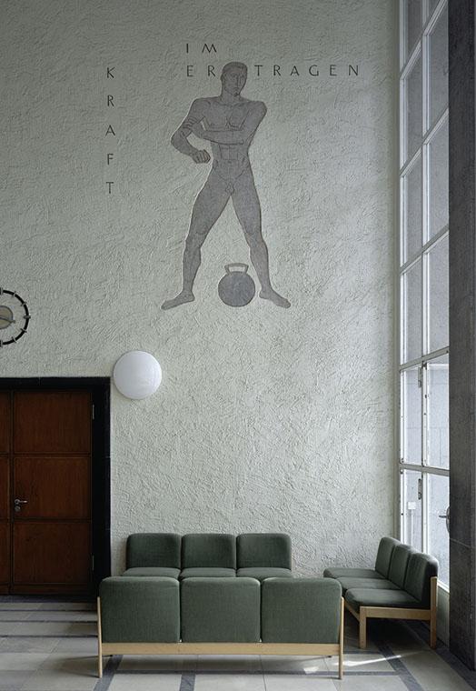 """Arnd Weider: Olympiapark Berlin, 2009, aus der Serie """"Sportstätten"""""""