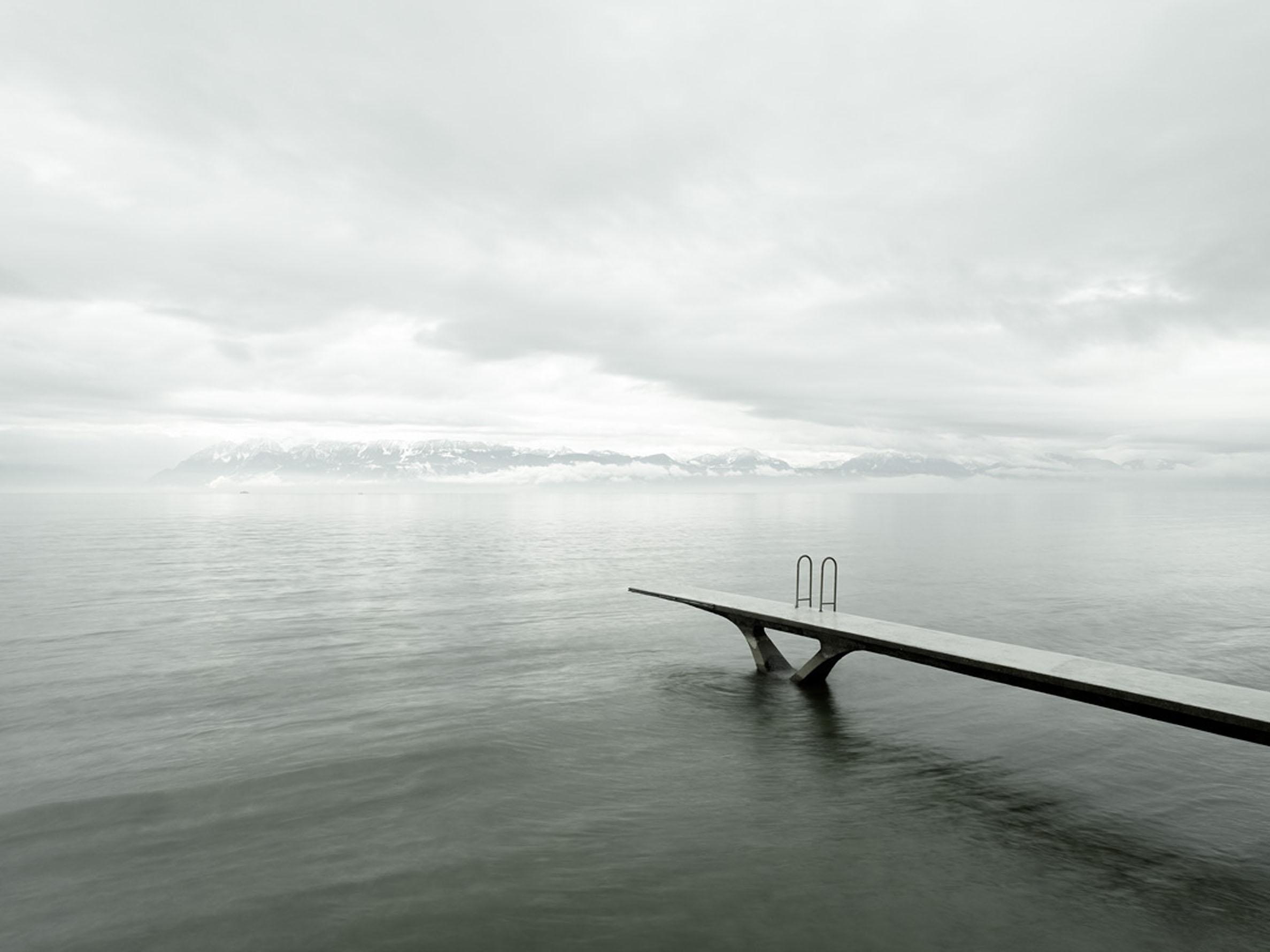 Sandro DienerGenfersee, Schweiz, 2013135 x 110 cm Edition of 5 geprintet auf Hahnemühle Photo Rag 305 g
