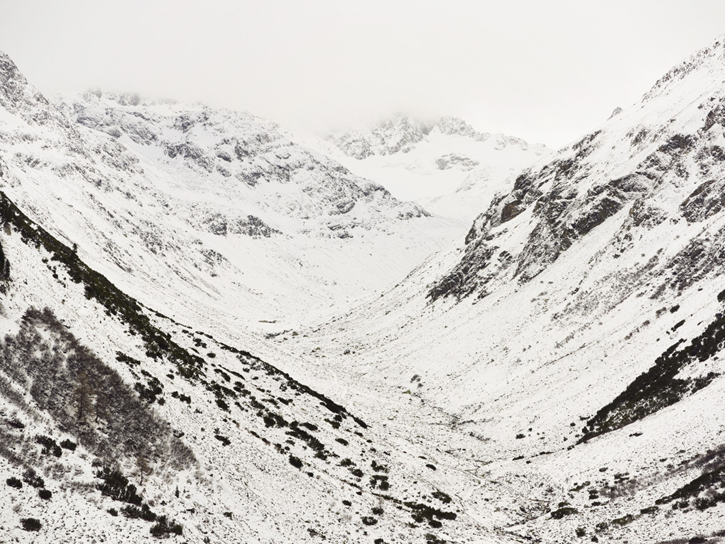 Sandro DienerFlüela, Schweiz, 2010135 x 110 cm Edition of 3geprintet auf Hahnemühle Photo Rag 305 g