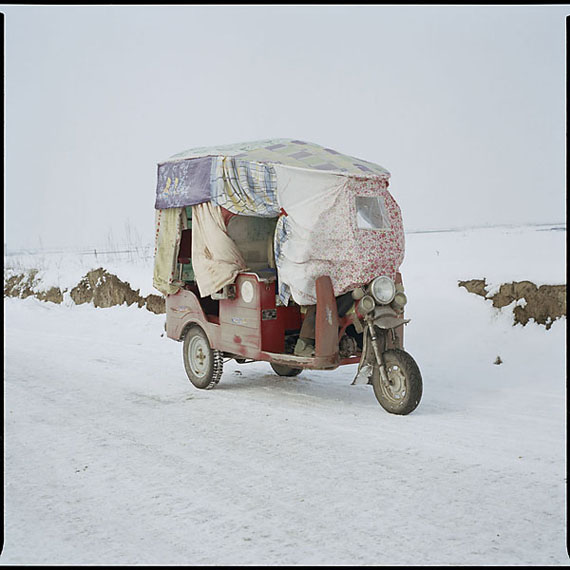 """""""Fengxiang, Shaanxi"""" (2008) C-Print. 50 x 50cm - Ed. of 15; 100 x 100cm - Ed. of 8©Luo Dan. Courtesy M97 Gallery."""