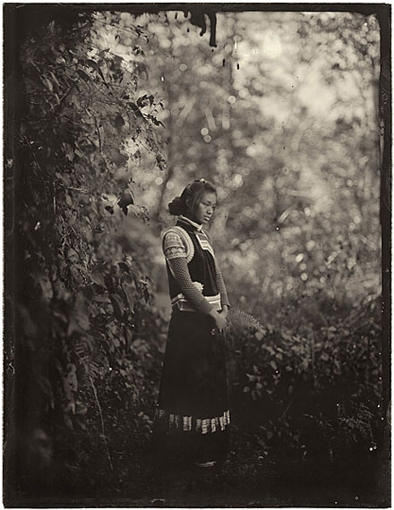 """Simple Song #37: Heng Yanii, Jiake Village"" (2012) Pigment print on fiber paper from collodion wet plate. 30x 21cm - Ed. of 20; 147.3 x 111.8cm - Ed. of 8.