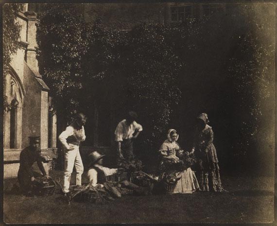 William Henry Fox TalbotThe Fruit Sellers, circa 1842-44Estimate €20,000-23,000