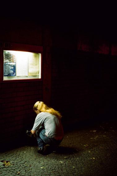 Tobias ZielonyLight Box, aus der Serie: Jenny Jenny, 2013© Tobias ZielonyCourtesy of Tobias Zielony and KOW, Berlin