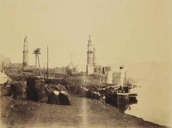 235. Gustave Le Gray (1820-1884)Égypte, 1867-1868.Girgeh.Albumen print.