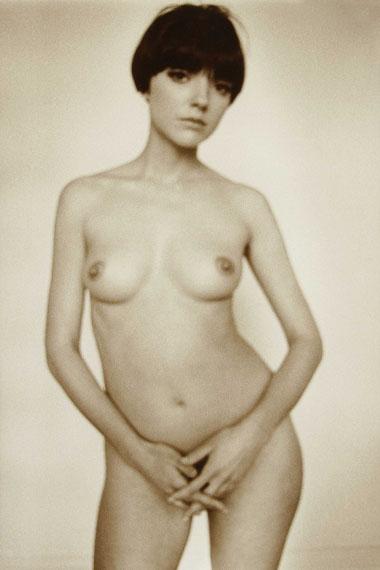 356. Jeanloup Sieff (1933-2000)Hommage à Seurat.New York, 1964.Vintage gelatin silver print, signed.