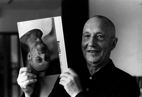Kurt Wyss: Baselitz, Basel 2002 © Kurt Wyss, Courtesy Johanna Breede PHOTOKUNST