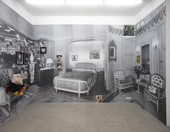 Detail installation, Vrai ou Faux?, Vienna © Véronique Bourgoin
