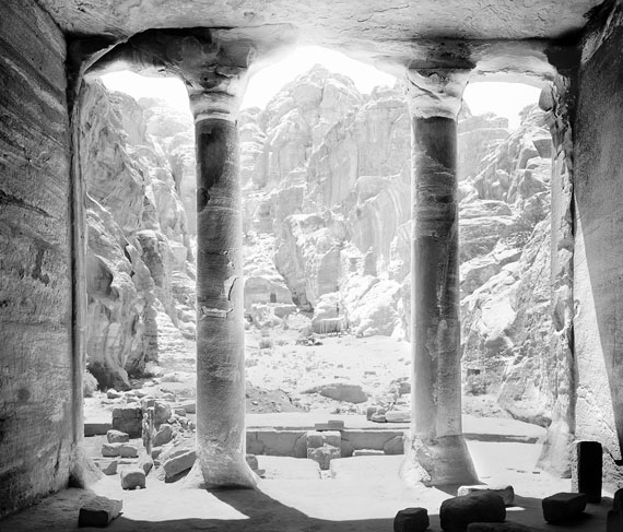 Paolo Morello: Petra, The Garden Temple from inside