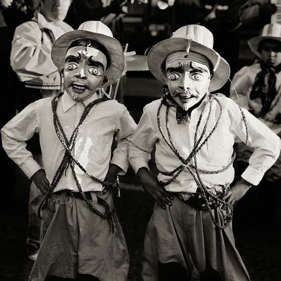 Dana GlucksteinFestival Boys, Peru, 2006Archival Pigment Photograph printed on Moab Entrada paper 71 x 71 cm (28 x 28 inches)