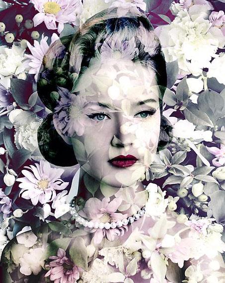 Edwynn Houk Gallery, New YorkValérie BelinPainted Daisy (Carmine Blush Chrysanths), 2010