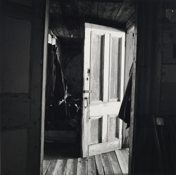 Walker Evans: [Interior View of Robert Frank's House, Nova Scotia], 1969-71