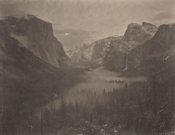 Silent Respirations of Forest : Yosemite #13, 2010Handmade platinum/palladium print on Japanese gampi paper. Edition of 9. Image size :  26,1 x 34,1 cm