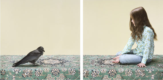 Petrina HicksThe Hand that Feeds, 2013 (Diptych, Part 1 & 2)Pigment print, edition of 8 + 2AP100 x 100cm