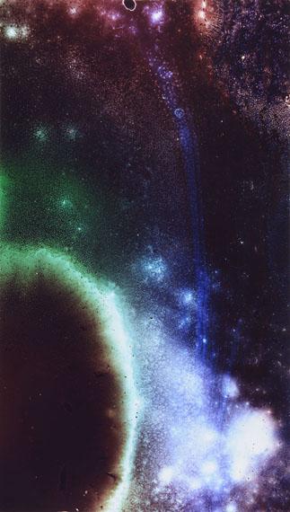 Ralf Cohen: RCA-13, 2013, Farbe auf Glas, C-Print, 94 x 60 cm