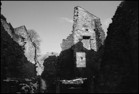 "Marissa Roth ""Window Amidst the Ruins"", Oradour-sur-Glane, France 2013"