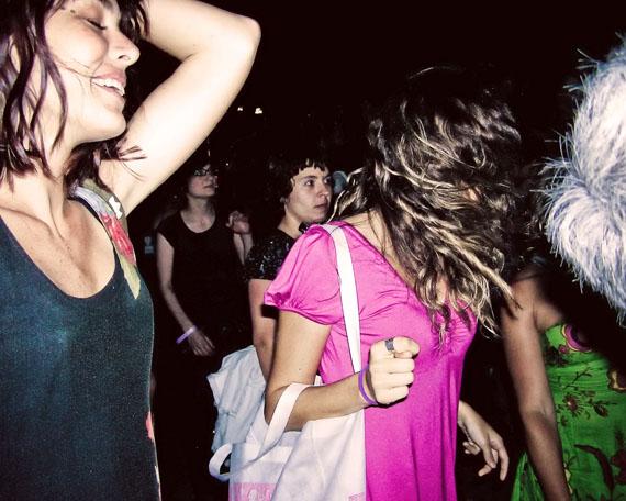Camila Rodrigo Graña Caro and Roxy dancing. From the series Simulacrum. 2007