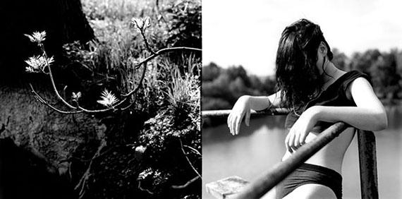 © Brigitte Tast: Photos , 24 x 30,5 / 13,3 x 26 cm, Silbergelantine-Handabzug mit Goldtoner