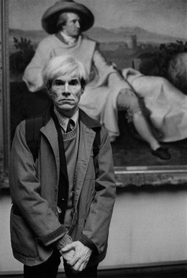 Andy Warhol, Frankfurt, 1981 © Barbara Klemm