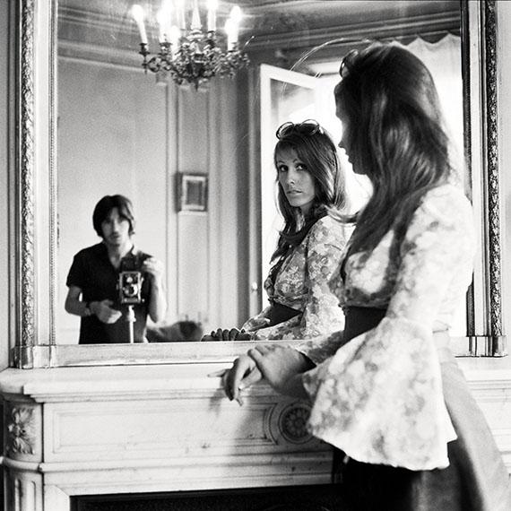 """I and Model, Paris, 1970"