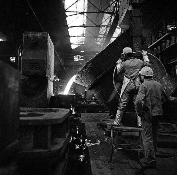 """""""Thyssen steel works"""", Mülheim, 1992"""