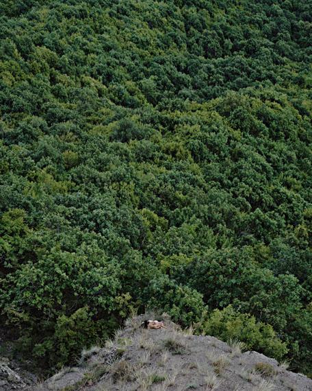 """RubenBrulat: """"Douces brises"""", 2011, Georgia, Kiketi, 152 x 190 cm, Inkjet print, 1/1 + 1AP"""