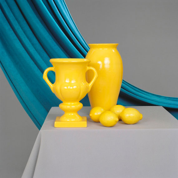Petrina Hicks, Greyscale (detail), 2013, suite of 5 pigment prints, edition of 8 +1AP, Two Vases, 32 x 34cm