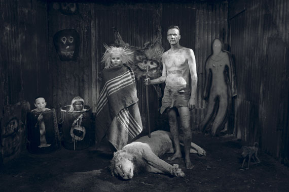 Roger Ballen, Shack Scene from Die Antwoord, 2012, archival pigment print, 21 x 31cm, edition of 50