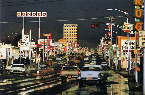 Route 66, Albuquerque, NM, 1969, Ernst Haas 