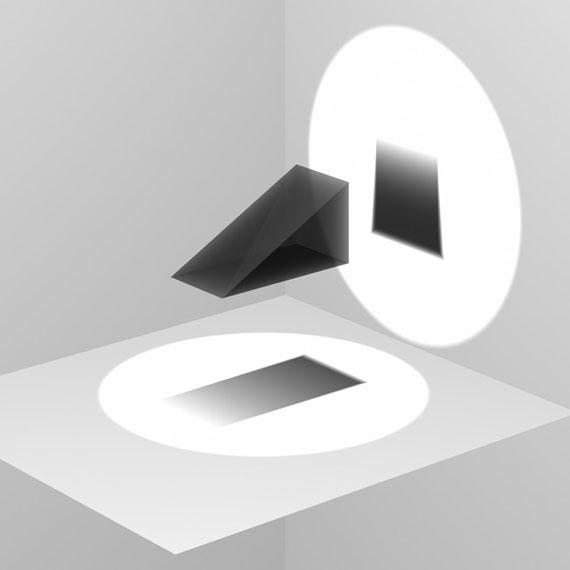 Thomas FreilerIllustrations, grey scale wedge, 3D Modell, CGI (Blender Render), 2009Pigmentprint, 61 x 50.8 cm© Thomas Freiler