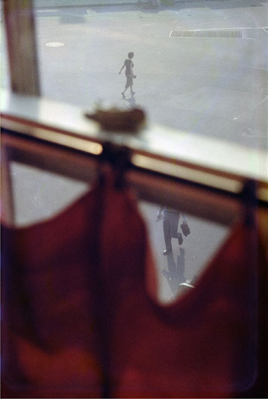 Red Curtain, 1956 © Saul Leiter