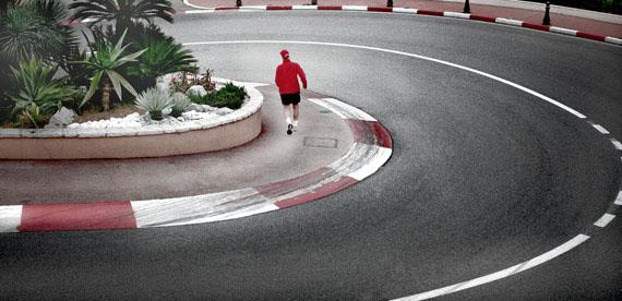 Löws Curve Monte Carlo  Jogger CSummer, Monaco 2012, Thursday, 12:30 pm