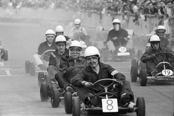 Go-Kart-Rennen, Dortmund, 1962 © Hans Rudolf Uthoff