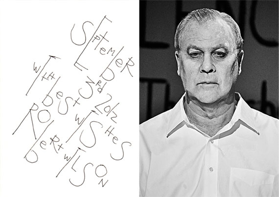 Holger Jacobs: Robert Wilson, 2012
