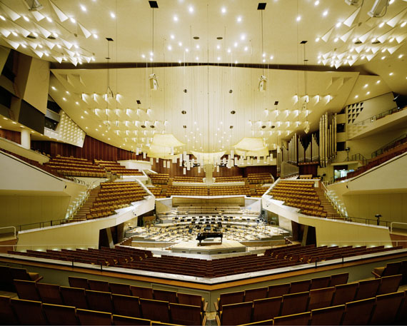 Manfred Hamm: Berlin, Philharmonie, 2012, Farbfotografie, Ed.III, 106 x 128 cm