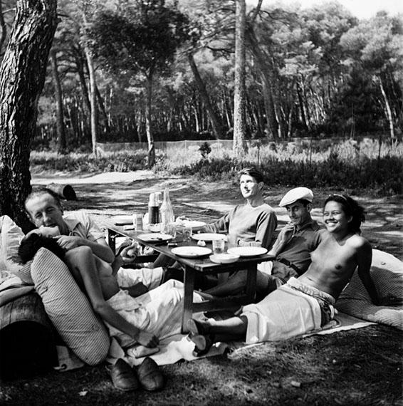 Lee Miller: Picnic, Ile St. Marguerite, 1937 © Lee Miller Archives, England 2013. All rights reserved.