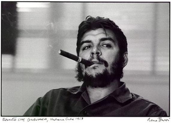 René Burri: Ernesto Che Guevara, Havana, Cuba, 1968