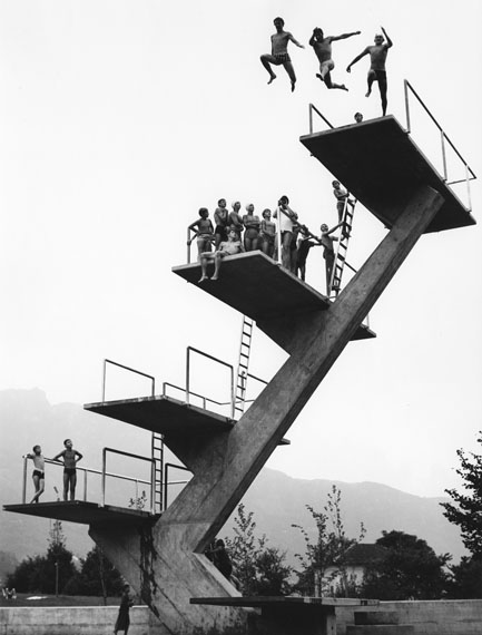 Arnold Odermatt: Bellinzona, 1970Copyright: Urs Odermatt, WindischCourtesy: Galerie Springer Berlin