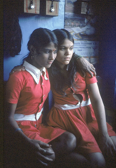 Putla and Reika from the series Falkland Road, Bombay, India. 1978 © Mary Ellen Mark