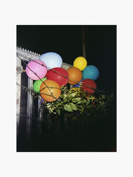 "Aus der Serie ""The last year of childhood"", Ballons"