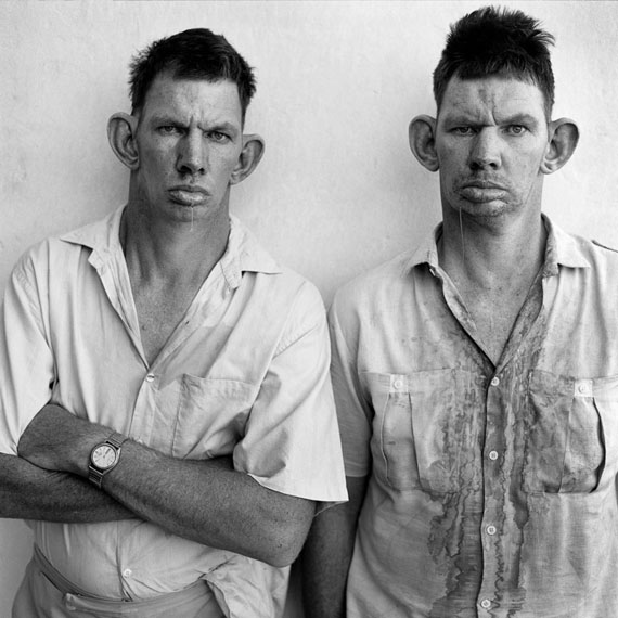 Dresie and Casie, 1993 © ROGER BALLEN