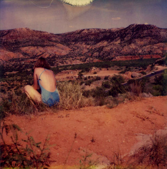 Simone KappelerPainted Desert, 7.7.19811981Ilfochrome color print© Simone Kappeler, Courtesy Galerie Esther Woerdehoff