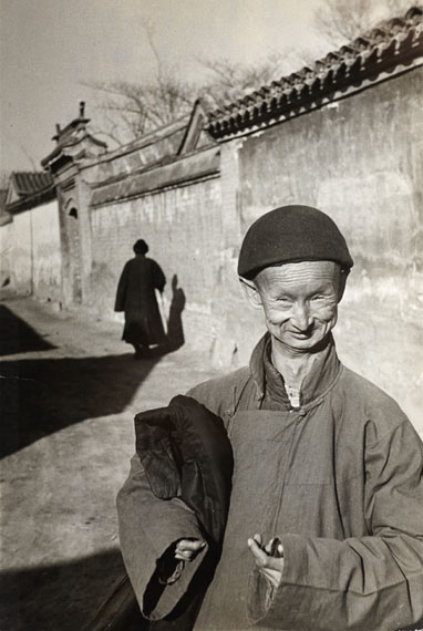Henri Cartier-Bresson: Eunuch of the Last Chinese Imperial Dynasty, Peking 1948
