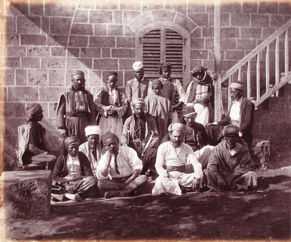 204. Francis Bedford (1816-1894)Bedford's Photographic Pictures. Syria. 1862. Album containing 30 albumen prints.