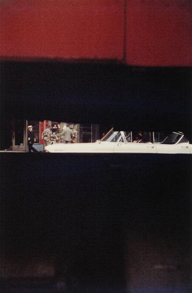 SAUL LEITERThrough Boards 1957cromogenic print, printed later35 x 28 cm