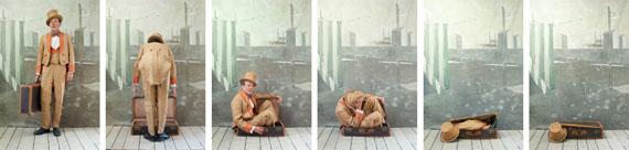 The Magician, Paolo Ventura © Paolo Ventura, Courtesy of ATLAS Gallery